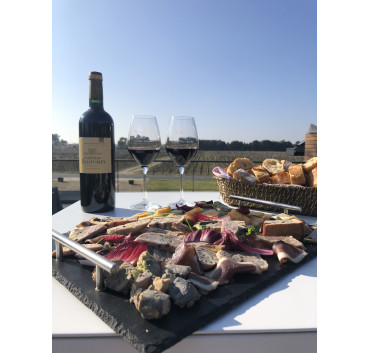 Medoc charcuterie plate