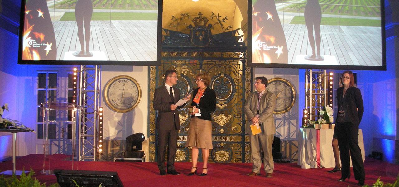 Cérémonie des Best Of Wine Tourism 2011