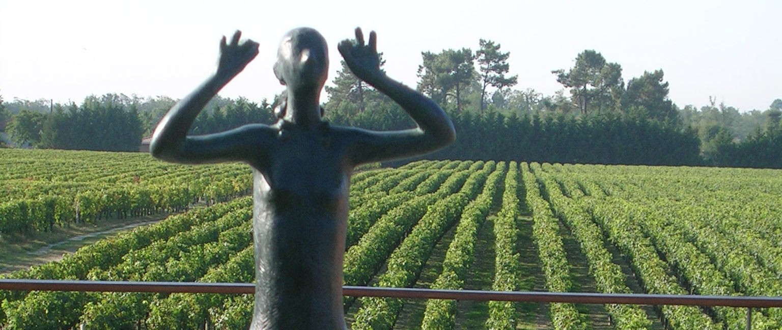 Art et Vin - Sculpture Pierre Lagenie