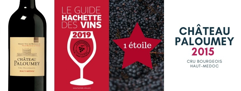 1 star at the 2019 Guide Hachette des Vins