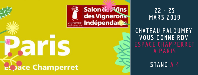 Salon des vignerons Indépendants Paris Champerret 2019