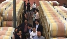 Visit of our chinese customers during VINEXPO